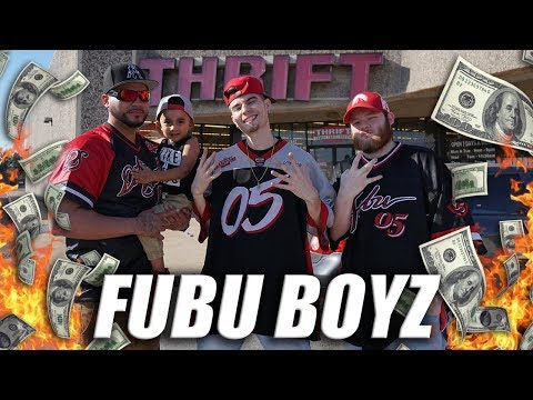 Trip to the Thrift #219 | FUBU BOYZ RAID THE THRIFT!! HELLA HEAT!