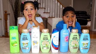 Don't Choose the Wrong Shampoo SLIME Challenge!