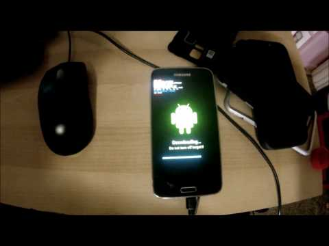 Restore Verizon Galaxy S5 using ODIN