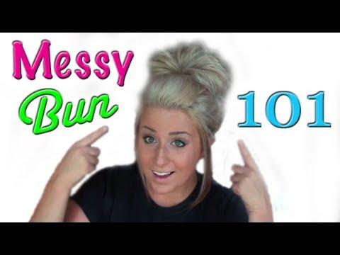 Hair Tutorial: Beach Style Messy Bun
