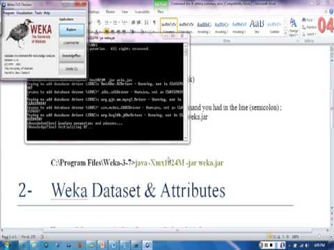 Lecture 4-2: Troubleshooting Java Heap Memory & some indight about Weka Attributes