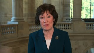 Collins takes issue with Trump on Russia talk
