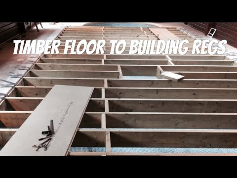 Constructing a Suspended Floor to Building Regs