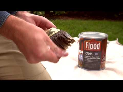 Before You Stain Your Deck, Do This To Your Brush