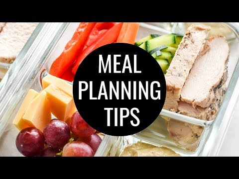 5 Meal Planning Tips for Beginners - How to Meal Plan