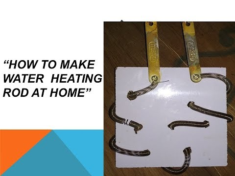 How to make Water Heating Rod at home