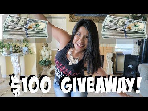 $100 GIVEAWAY INTERNATIONAL!