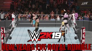 Wwe2k19 New Years Eve Royal Rumble