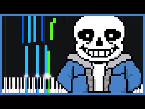 Megalovania (Soft Version) - Undertale [Piano Tutorial] (Synthesia) // Just Keynime