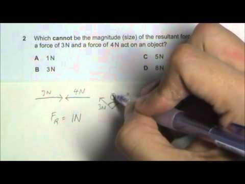 2010 O' Level Physics 5058 Paper 1 Solution Qn 1 to 5