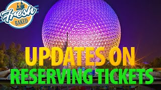 Update on Reserving Tickets for Disney World | 2020-05-28
