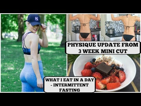 FULL DAY OF EATING + PHYSIQUE UPDATE || Mini Cut Episode 3
