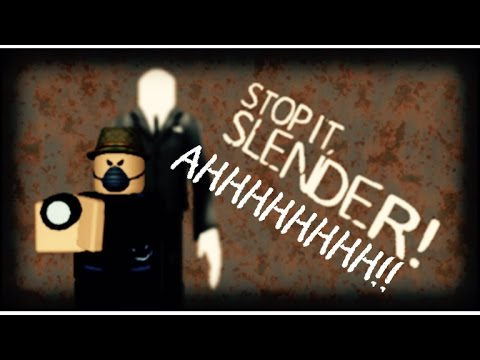 Stay Away Slender Man! Roblox On The Xbox One Edition!