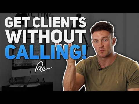 How To Get Social Media Marketing Clients WITHOUT Cold Calling (Easiest Way To Get SMMA Clients)