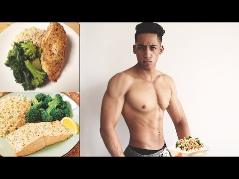 Diet To Get Lean Shredded Muscle (Full Day Of Eating)