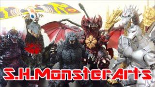 S.H.MonsterArtsシリーズで遊んでみた!!