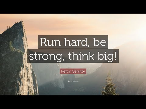 TOP 10 Percy Cerutty Quotes