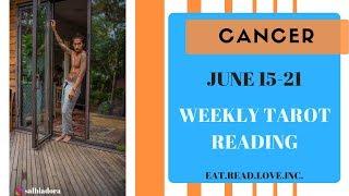CANCER Psychic Tarot Reading | Weekly Horoscope | June 17-23