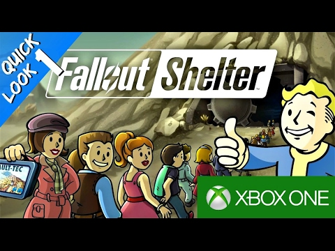 🛠Fallout Shelter Xbox One (Quick Look 1)