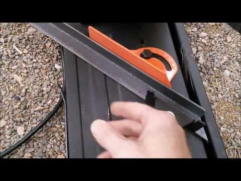 Harbor Freight 14 Inch Chop Saw Modifications