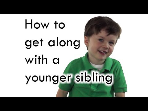 How to get along with a younger sibling
