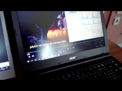 Intel Pentium Quad Core N4200 play 4K UHD HEVC 10bit