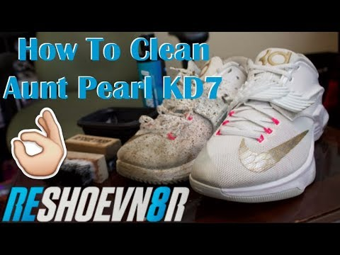 How To Clean Aunt Pearl KD7s Using Reshoenv8r!