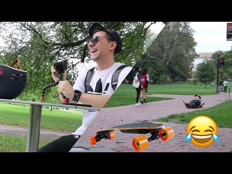 Boosted Board PRANKS at Ohio State University!