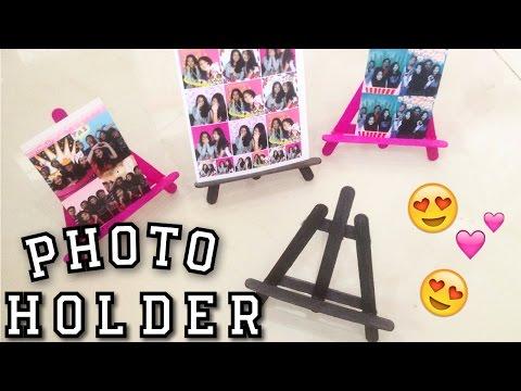 DIY Tumblr Photo Holder / Phone Holder Desk