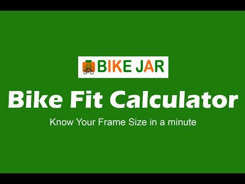 Bike Fit Calculator | Best Bike Frame Sizing Calculator