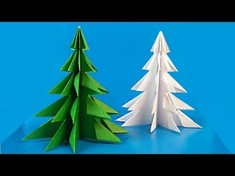 HOW TO MAKE A PAPER CHRISTMAS TREE / Diy Tutorial