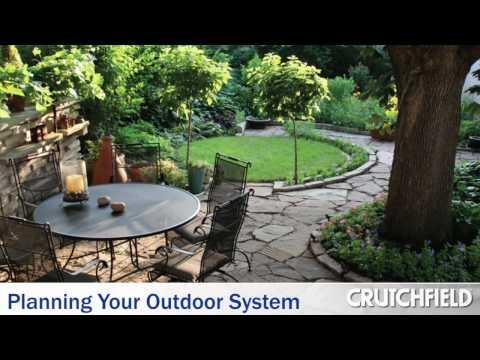 Planning Your Outdoor Speaker System | Crutchfield Video