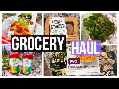 Trader Joes, Whole Foods & Target Healthy Grocery Haul!