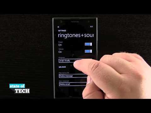 Nokia Lumia 1020 Quick Tips - How to Change the Default Ringtone