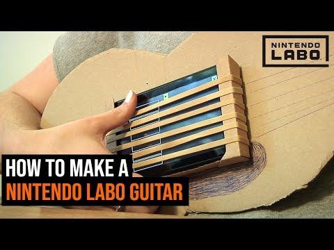 Nintendo Labo How To Make A Guitar