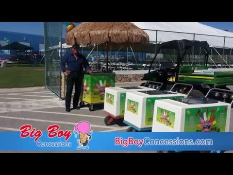 Big Boy Concessions|Ice Cream, Fruit Bars, Candy, Hot Dogs, Cart Rentals in El Paso, TX