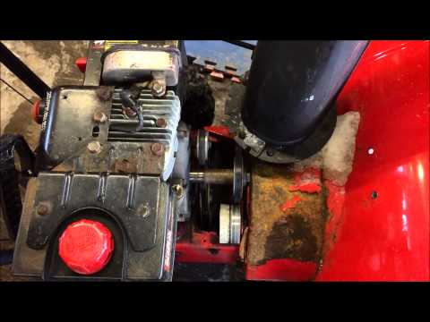 Snow Blower Auger Belt Replacement - Troy Built, MTD, Yard Machine