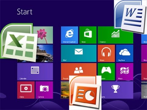 Installing Microsoft Office (Word, Excel, PowerPoint etc.) in Windows 8