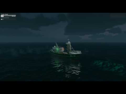 Arma 3, big waves and fishing boats