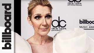 celine dion backstage after performing my heart will go on billboard music awards 2017