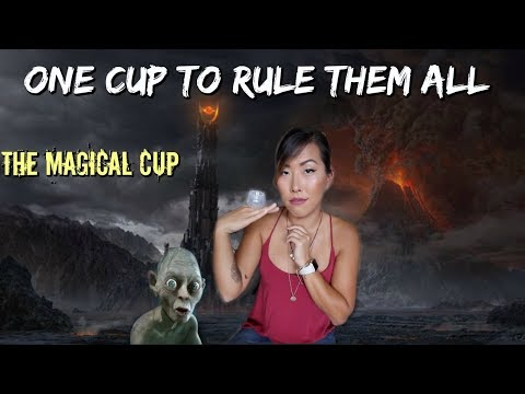 I TRIED THE FEMMY CYCLE CUP *WARNING REAL BLOOD*   ITSJUSTKELLI