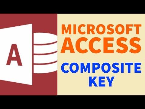 Composite Key | Microsoft Access