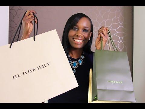 Designer Sales Haul | Burberry | Longchamp | Alexander McQueen & more