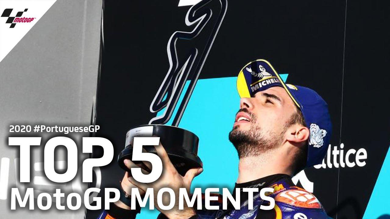 Top 5 MotoGP Moments   2020 #PortugueseGP