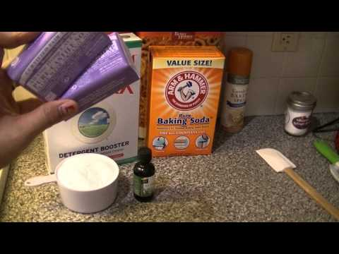 How to make Washing Soda & Laundry Detergent