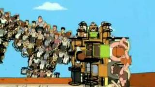 Family Guy LOL !!  CRIPPLETRON - Giant TRANSFORMER Destroys RESTAURANT!! LOL!