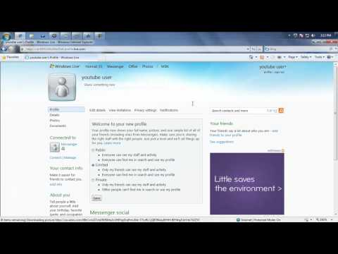 How to delete a windows live/hotmail account