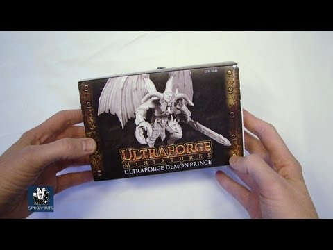 New Ultraforge Demon Prince w/ Wings Unboxing Resin Daemon