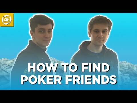 How to Find Poker Friends - 4 Tactics to Build your Team!