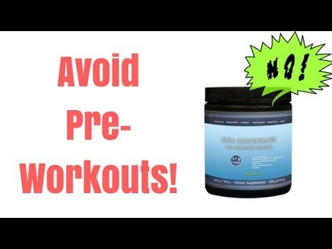 Pre Workout Side Effects - 7 Reasons Why You Should Not Use a Pre Workout Supplement
